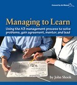 Using A3 reports for lean management.