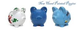 Child To Cherish Hand Painted Piggy Banks