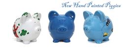 Child To Cherish Hand Painted Piggy Banks