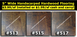 Handscraped Hardwood Flooring Dallas