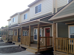 Wolf Run Village custom townhomes