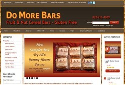 Do More Bars Gluten Free Bars New Website