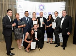 Merco Staffing at the Merton Business Awards 2013