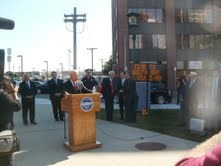 DriveTimes, All Traffic Solutions, Boston, Mayor, Press Conference