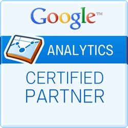 Teknicks is a Google Analytics Certified Parter (GACP)