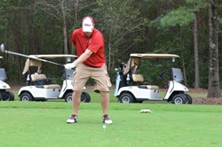 Wounded service member enjoys golf tournament