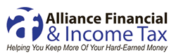 Alliance Financial is based in Blue Springs, Missouri.