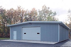 Olympia Steel Buildings  Backyard WorkShop
