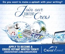 cruise blogger