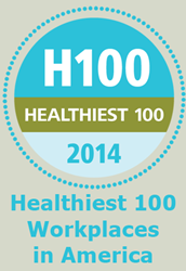 Healthiest 100 Workplaces in America Award