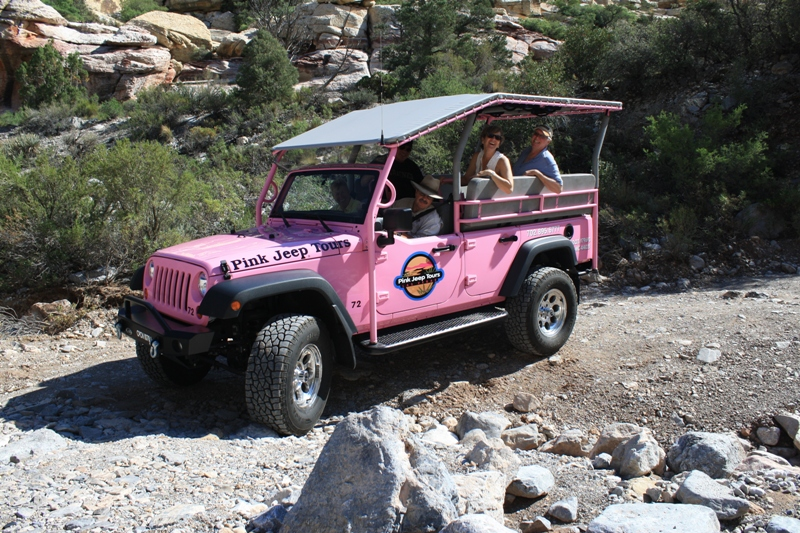 Pink Jeep 174 Tours Las Vegas Launches New Red Rock Tour In