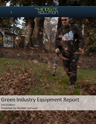 2013 Green Industry Equipment Report