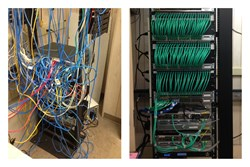 network cabling installation, structured network cabling