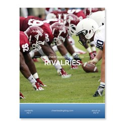Cheerleading Blog University releases a new eBook on rivalries