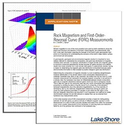 Rock Magnetism and First Order Reversal Curve Measurements App Note