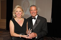 Jenny Pruitt from Atlanta Fine Homes Sotheby's International Realty accepts Lifetime Achievement Award