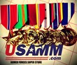 USA Military Medals Carrying Thousands of Anodized Medals in Time for...