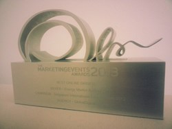 GSI Wins Best Online Driver at Marketing Events Awards