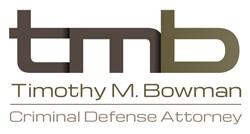 Portland criminal attorney Tim Bowman logo