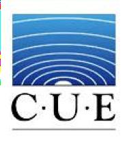 CUE logo