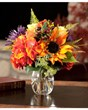 Rose, Hydrangea & Sunflower Accent