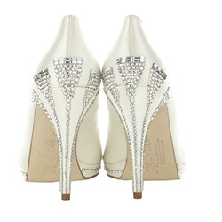 Deco-inspired Designer Bridal Shoes