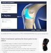 Modern Arthritis Treatments Can Avoid Need for Knee Surgery, Says Advanced Rehabilitation of Jersey City's Dr. Leonard Lachman