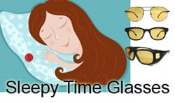 Sleepy Time blue blocking glasses