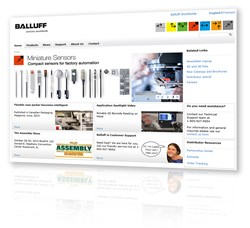 Balluff Canada launches new multilingual website