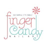 Finger Candy Nail Art Logo