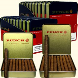 Punch Cigarillos and Miniatures