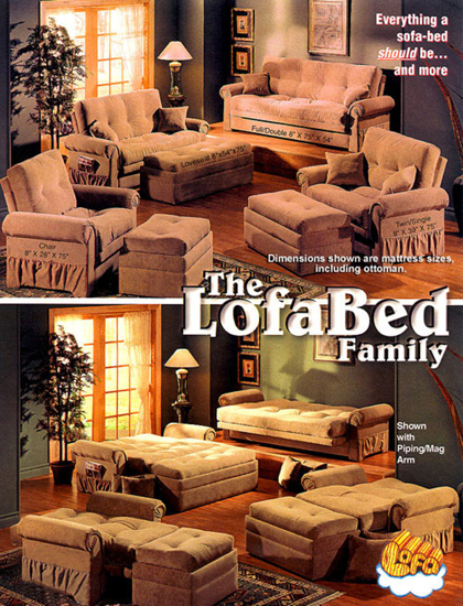 Lofasofa Announces Comfortable New Sofa Bed Is Made To Order In Canada And Shipped Time For The Holidays