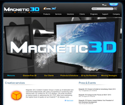 Magnetic 3D's new website