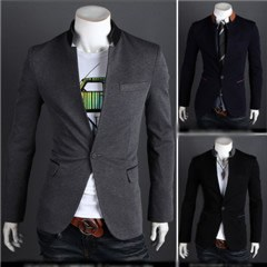 3-Ruler Special Contrasting Color Casual Suit