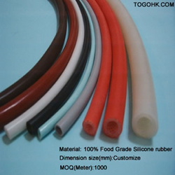 Color silicone tubing