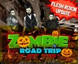 Zombie Rock Band Flesh Roxon Settles in Zombie Road Trip,...
