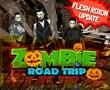 Zombie Rock Band Flesh Roxon Settles in Zombie Road Trip,...
