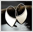 Silver Blade Earrings by Heidi Lee Design Episode 4:17 The Vampire Diaries