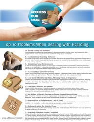 Address Our Mess Top Ten Problems When Dealing with Hoarding