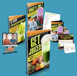 New Get Juiced Recipes by Vince Del Monte and Drew Canole