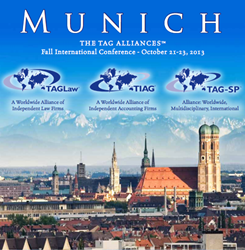 TAGLaw to Hold International Legal Conference in Munich