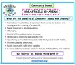 Benefits of Community Based Breast Milk Sharing
