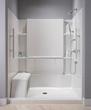 Sterling by Kohler, Accord 60 Seated Shower Receptor