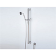 """rohl 1272 36"""" brass decorative grab bar with single function handshower and lever handle slider from the country bath collection"""