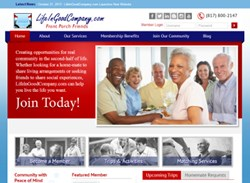 LifeInGoodCompany.com Website Home Page