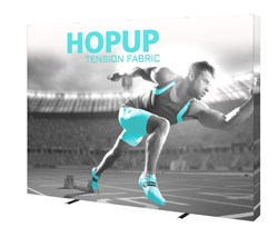 Hop Up Tension Fabric Display