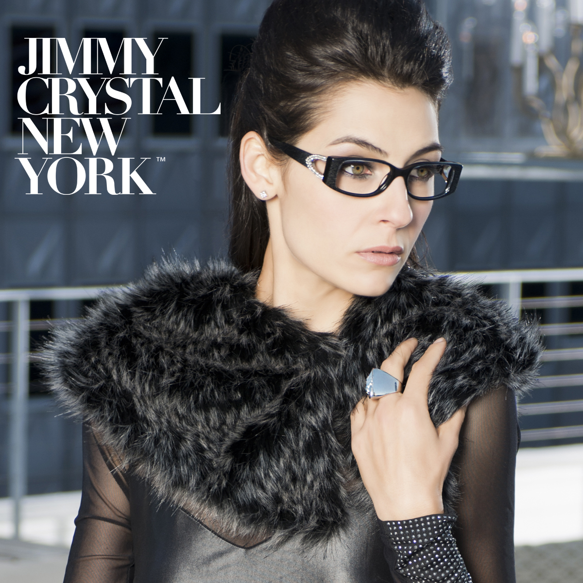 Sparkling New Ophthalmic Frames From Jimmy Crystal New York