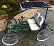 Announcing the Rhoades Car SOLARped - Four Wheel Bicycle 100% Powered...