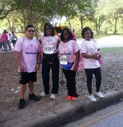The PreCheck Team joins 23rd annual Susan G. Komen Houston Race for the Cure to End Breast Cancer.
