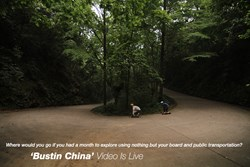 For 5 weeks the three man Spanish crew traveled across China skating and filming in some of the most majestic and eclectic spots on the planet.